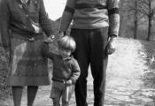 Эрнест, Хэдли и Бэмби Хемингуэй, 1926 г.