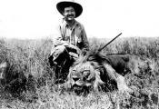 В Африке на сафари, 1934 г.