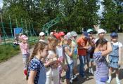 В гостях у воспитанников школьного лагеря ГУО «Гимназия № 3 г. Витебска»
