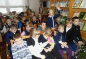 В гостях у библиотеки воспитанники СШ № 25 г. Витебска