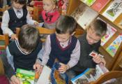 Знакомство с книгами из читального зала