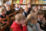В гостях у библиотеки учащиеся 1 «В» класса СШ № 25