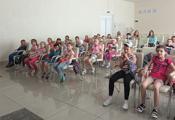 Воспитанники летнего лагеря СШ № 11 г. Витебска
