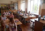 Воспитанники школьного лагеря ГУО «Гимназия № 3 г. Витебска»