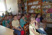 Воспитанники школьного лагеря гимназии № 8 г. Витебска