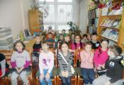 В гостях у отдела детской литературы воспитанники школьного лагеря СШ № 33 г. Витебска