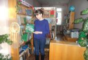 Библиотекарь Ольга Хоменко проводит экологическое путешествие «В стране непуганых зверей», приуроченное ко Дню заповедников и национальных парков