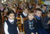В гостях у библиотеки учащиеся 1 «В» класса СШ № 25 г. Витебска