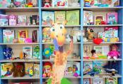 Выставка-инсталляция «В книжном царстве игрушки живут»