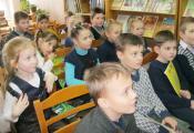 Учащиеся в гостях у библиотеки