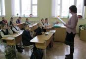 В гостях у учащихся 3 «Е» класса СШ № 46