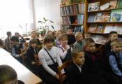 В гостях у отдела детской литературы учащиеся 4 «В» класса СШ № 25 г. Витебска
