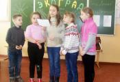 Участники поэтического ринга «Добрые рифмы»