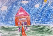 «Сельская библиотека». Кабачевский Дмитрий, 4 «Г» класс ГУО «СШ № 46 г. Витебска»