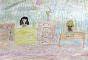 «Библиотека в моей школе». Шкирьянова Анастасия, 4 «Д» класс ГУО «СШ №46 г. Витебска»