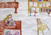 «Мой любимый библиотекарь». Жаголкина Елизавета, 4 «Г» класс ГУО «СШ № 46 г. Витебска»