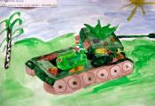 «Память о войне». Долганова Анна, 4 «Д» класс ГУО «СШ № 40 г. Витебска»