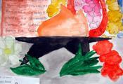 «Вечный огонь». Долганова Анна, 4 «Д» класс ГУО «СШ № 40 г. Витебска»