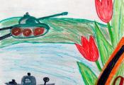 «Вечная слава героям войны». Еленский Константин, 6 «Б» класс ГУО «СШ № 11 г. Витебска»