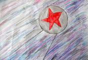 «Первый спутник». Долганова Анна. 6 «Д» класс, ГУО «СШ № 40 г. Витебска»