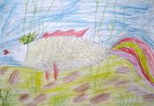 «Золотая рыбка». Никитина Кристина. 3 «Д» класс, ГУО «СШ № 12 г. Витебска»