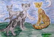 «Коты-воители». Воронец Анна. 6 «Б» класс, ГУО «Гимназия № 8 г. Витебска»