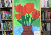 «Тюльпаны». Шниткова Алика, 8 лет